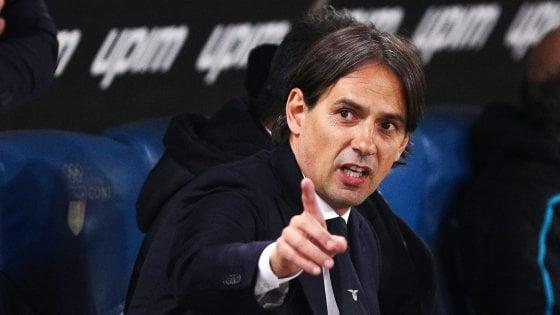 """Lazio, Inzaghi: """"Dimentichiamo il derby, con la Fiorentina sarà dura"""""""