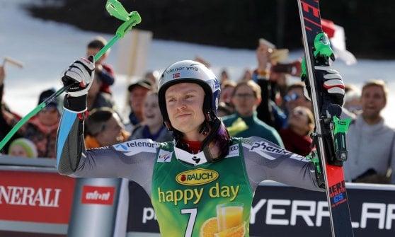 Sci, Cdm: 15 vittorie in una stagione, Mikaela Shiffrin record a Spindleruv