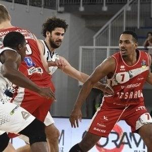 Basket serie A, Trieste-Pesaro 105-68: I padroni di casa inseguono i play off