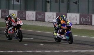 Moto2, vince Baldassarri: finale thrilling contro Luhti