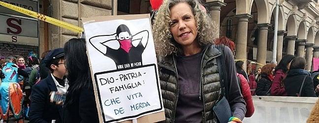 """Pd, Cirinnà e il cartello per l'8 marzo """"Denuncio chi usa lo slogan fascista"""""""