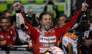 MotoGp, Qatar: trionfo Dovizioso, battuto Marquez. Quinto posto per Rossi