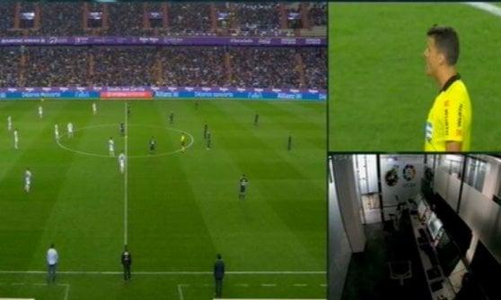 Spagna: tra Var e polemiche il Real Madrid si riscatta
