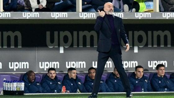"""Fiorentina, Pioli: """"L'Europa è ancora possibile"""""""