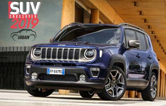 """Jeep Renegade conquista il titolo di """"Suv Urbain de l'Année"""""""