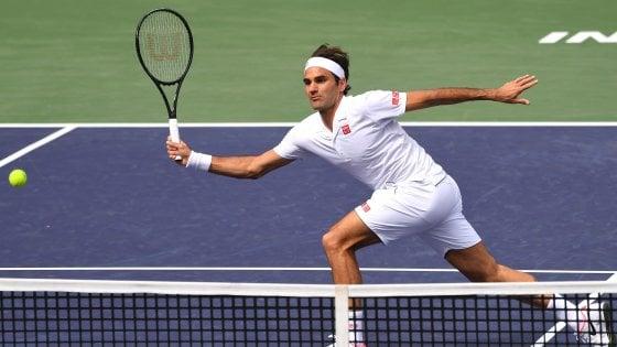 Tennis, Indian Wells: avanzano Federer e Nadal, fuori Fognini. Serena Williams si ritira