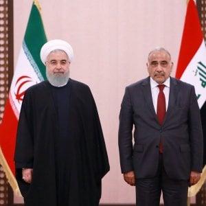Iran, il presidente Rouhani visita l'ex nemico Iraq