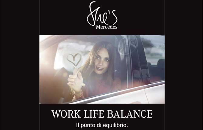 """Work life balance"", Mercedes pensa alle donne"