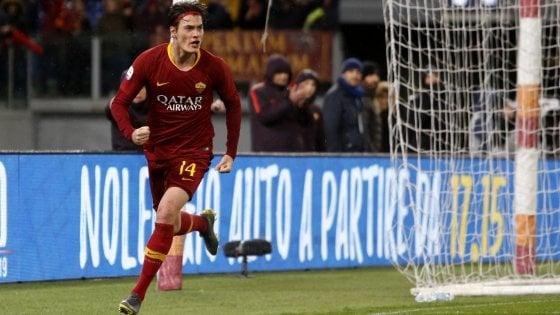 Roma-Empoli 2-1, Ranieri sorride grazie a Schick e al Var