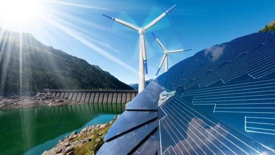 Rinnovabili, sorpasso vicino  il gas guida la transizione