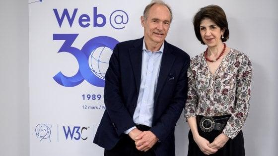 Il Web compie trent'anni: la festa al Cern