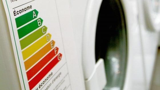 Nuove etichette energetiche Ue: al via dal 1° marzo 2021