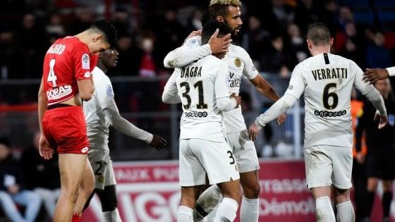 Francia, Psg prova ad archiviare la Champions: 0-4 a Dijon