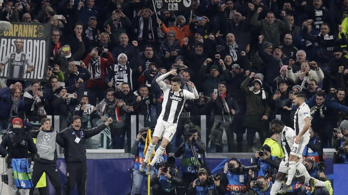 Champions Calendario Juve.Juventus Atletico Madrid 3 0 Cristiano Ronaldo Immenso