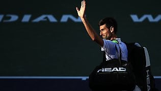 Tennis, sorpresa a Indian Wells: Djokovic fuori al terzo turno