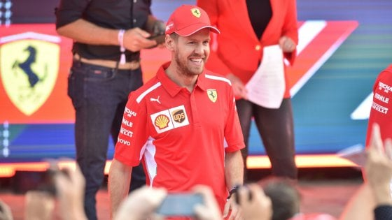 F1, Vettel battezza la nuova Ferrari: si chiama Lina