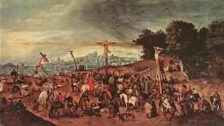 Beffati i ladri del furto della 'Crocifissione' di Bruegel il Giovane: il quadro era un falso