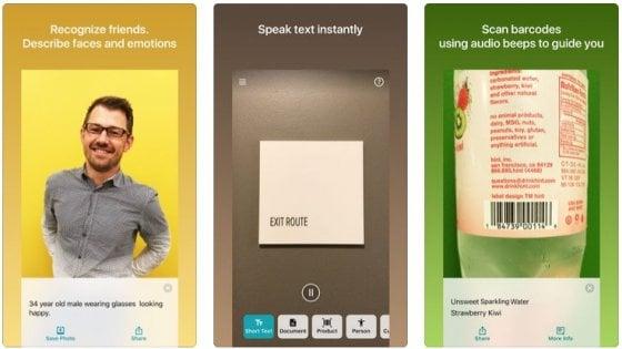 Seeing AI, l'app per non vedenti che aiuta a esplorare le immagini