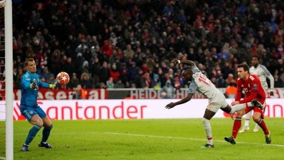 Bayern Monaco-Liverpool 1-3, Mané e Van Dijk spingono i Reds ai quarti