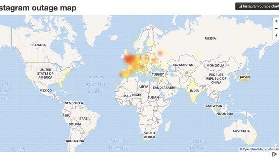 Social, il blackout più lungo della storia: Facebook, Instagram e WhatsApp down da 14 ore