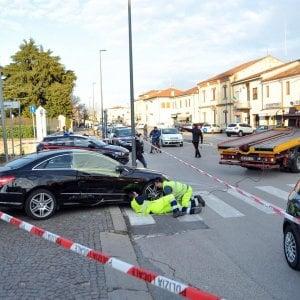 Vicenza, caccia ai banditi che hanno ucciso una donna ieri