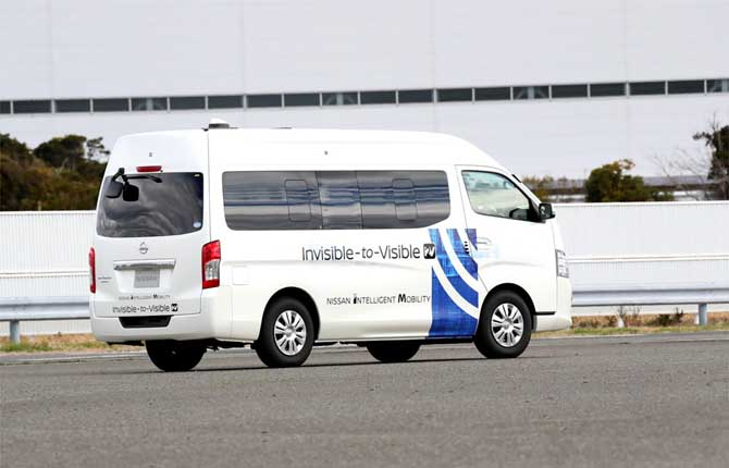 Nissan e Docomo, prove di futuro a bordo dell'auto