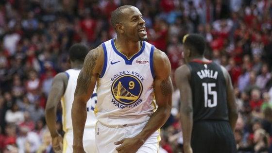 Basket, Nba: Golden State sfatà il tabù Houston, Westbrook trascina Oklahoma