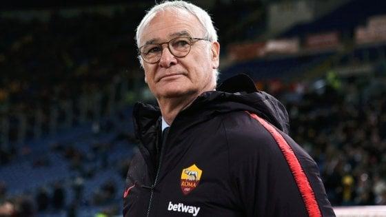 Ranieri: ''Roma, niente paura''. Zaniolo e Kolarov in dubbio per la Spal