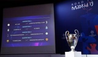 Champions League, sorteggio quarti: la Juve pesca l'Ajax