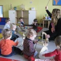 La musica all'asilo nido sviluppa il linguaggio