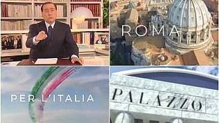 Il ritorno di Berlusconi: lo spot sembra il trailer di un film epico
