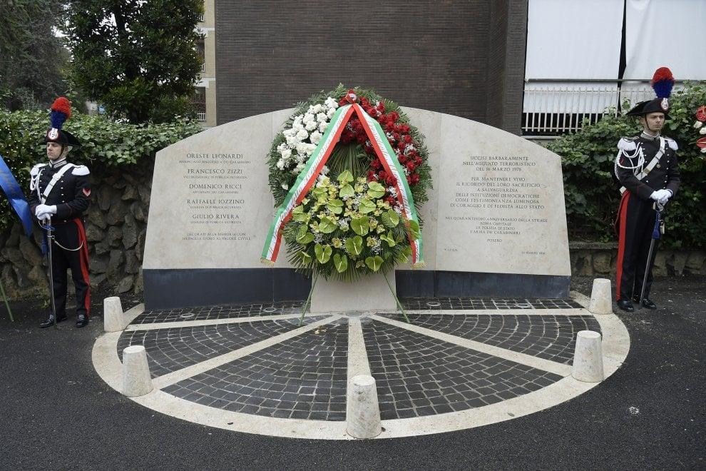 Via Fani, da Conte a Zingaretti per il ricordo di Aldo Moro