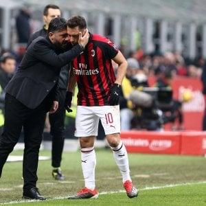"""Gattuso avvisa il Milan in vista del derby: """"L'Inter non è morta"""""""