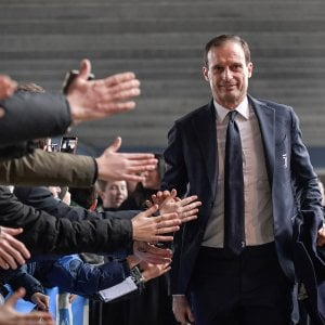 """Juventus, Allegri: """"Cinque vittorie per lo scudetto. Con il Genoa Ronaldo non ci sarà, deve riposare"""""""
