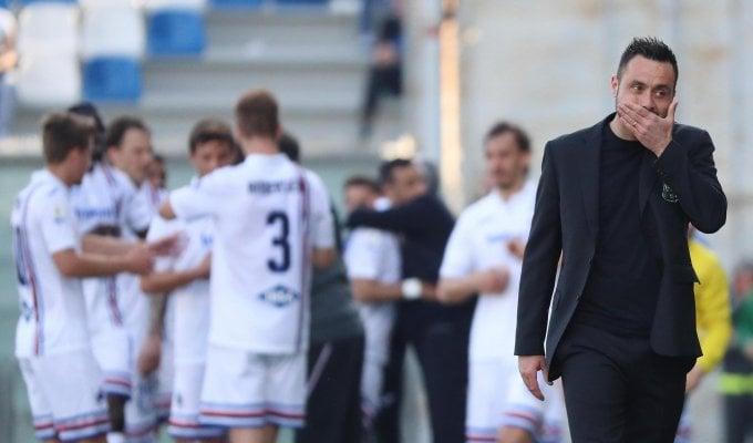 """Sassuolo, De Zerbi: """"Il nostro problema è psicologico"""""""