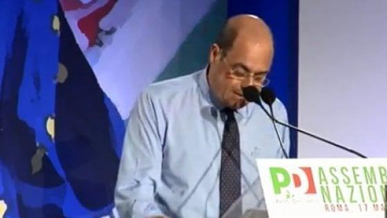 """Assemblea Pd, Zingaretti proclamato segretario: """"Serve un nuovo partito, deve cambiare tutto"""". Gentiloni eletto presidente. Il livetweet"""
