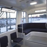 Gacha, bus navetta a guida autonoma