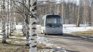 E il bus a guida autonoma non si ferma mai (anche col maltempo)