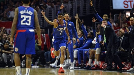 Basket, Nba: Clippers vedono playoff. A Est cadono Milwaukee e Toronto