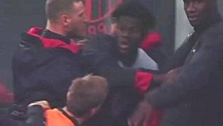 Milan-Inter, Kessie furioso in panchina: la lite con Biglia