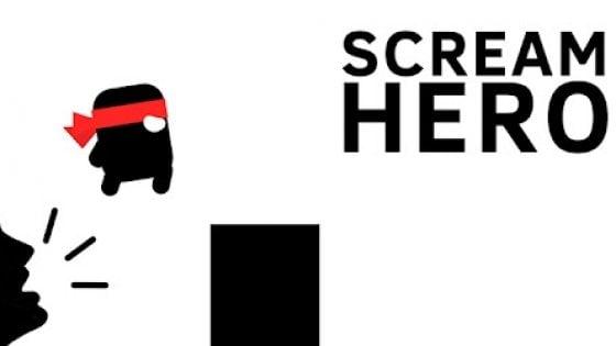 Scream Go Hero, per giocare devi urlare più forte che puoi