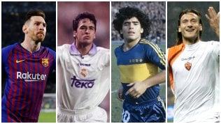 Messi, Raul, Maradona e Totti:qual è il pallonetto più bello?