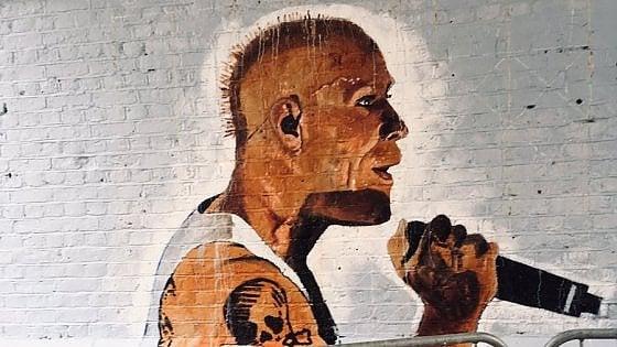 Keith Flint, un murale nell'Essex in ricordo del cantante dei Prodigy