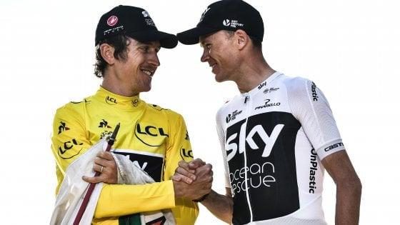 Ciclismo, il team Sky cambia padrone: dal 1° maggio sarà Ineos