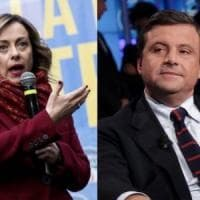"""Per i """"matrimoni misti"""" scintille fra Carlo Calenda e Giorgia Meloni su Twitter"""