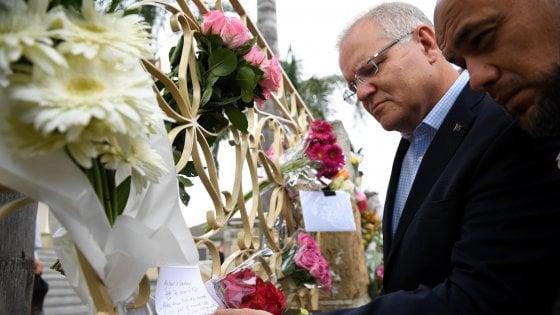 """Strage Moschee, Australia condanna parole di Erdogan: """"Irresponsabili"""". Funerali di due rifugiati siriani, padre e figlio"""