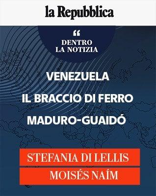 """Di Lellis e Naím: """"Venezuela, il braccio di ferro Maduro-Guaidó"""""""