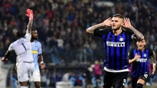 Inter, esilio finito per Icardi: l'attaccante torna in gruppo