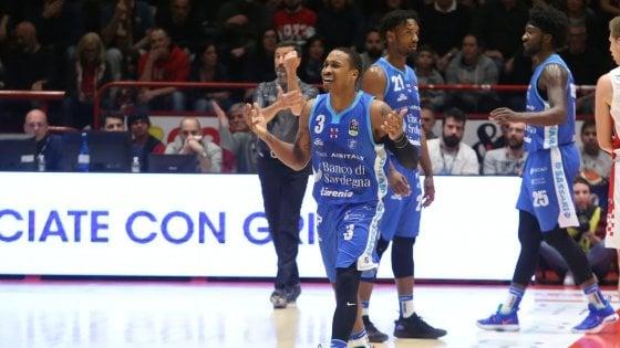 Basket, Fiba Europe Cup: Sassari ipoteca la semifinale, Varese quasi