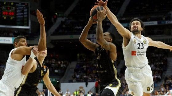Basket, Eurolega: Milano se la gioca, ma il Real è più forte. Finisce 92-89